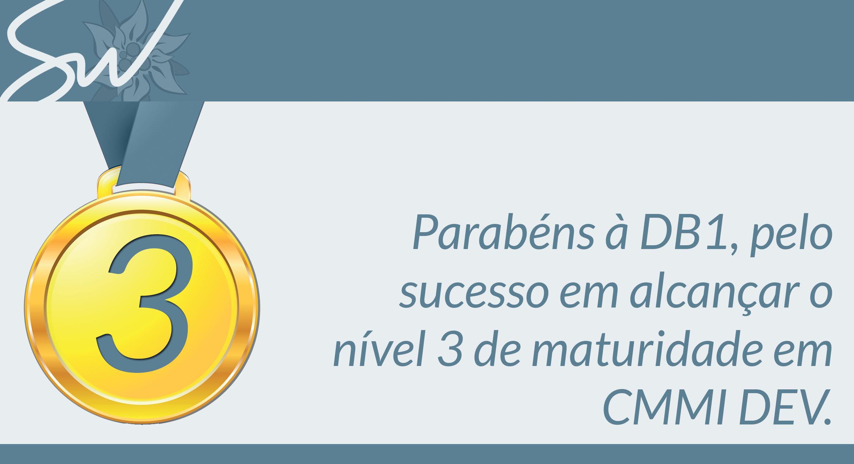 DB1 é CMMi nível 3
